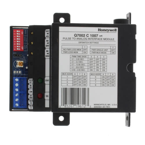 Q7002 Interface Modules for pulse width modulation inputs Product Image