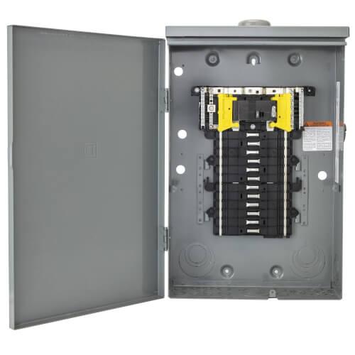 Outdoor Main Lug Load Center 200 Amp 12-Space 12-Circuit Panel Box W// Ground Bar