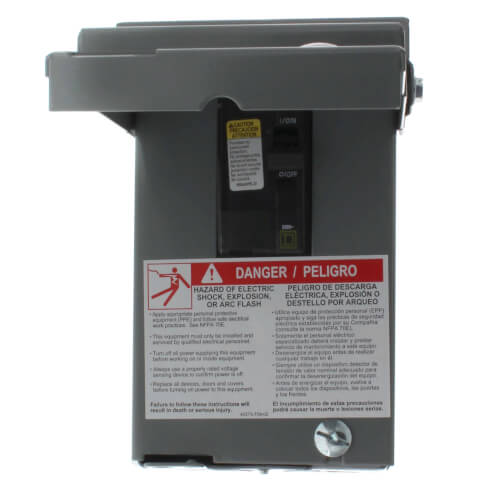 60A Non-Fused A/C Disconnect w/ Top Open (240V) Product Image