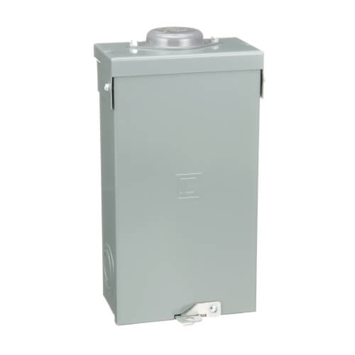 QO 2 Pole Outdoor Load Center Circuit Breaker Enclosure, 2 Space, 120/240V (100A) Product Image