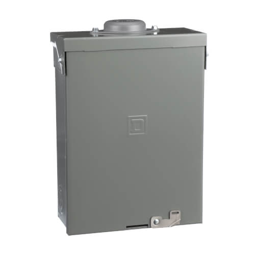 QO 12 Circuit Outdoor Main Lug Load Center, 6 Space, 120/240V (100A) Product Image