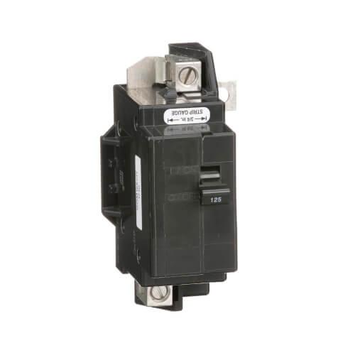 QO 2 Pole Bolt On Circuit Breaker (120/240V, 125A, 22kA) Product Image