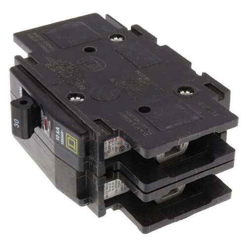 QOU 2 Pole Miniature Circuit Breaker (120/240V, 30A, 10kA) Product Image