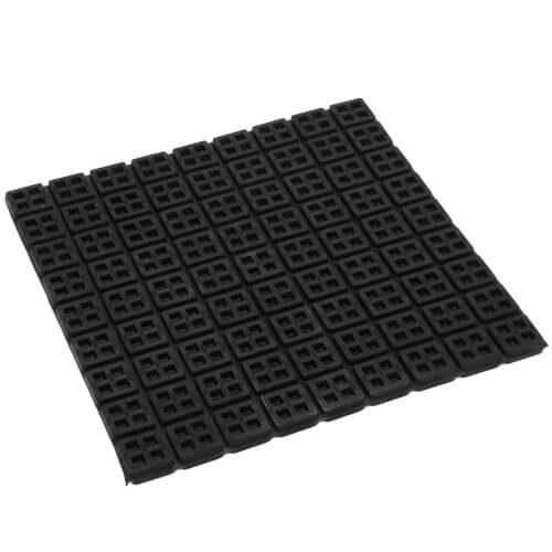 "Super W Natural Rubber Vibration Isolation Pad (18"" x 18"" x 3/4"") Product Image"