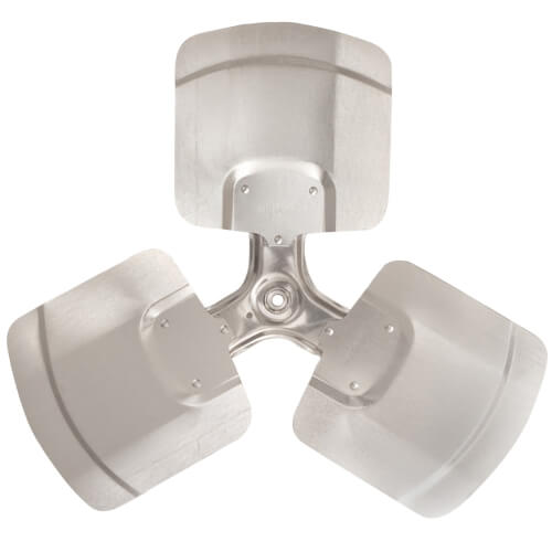 """24"""" Aluminum 3 Blade Fixed Hub Fan Blade (22° Pitch) Product Image"""