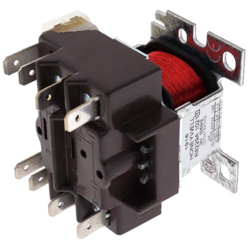 24v Electric Heater Relay w/ DPST Switching, w/ extra mounting hardware Product Image