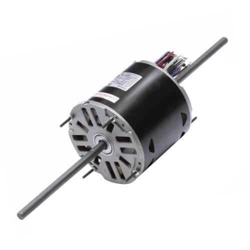 """5-5/8"""" Double Shaft Fan/Blower Motor (208-230V, 1075 RPM, 1/8 HP) Product Image"""
