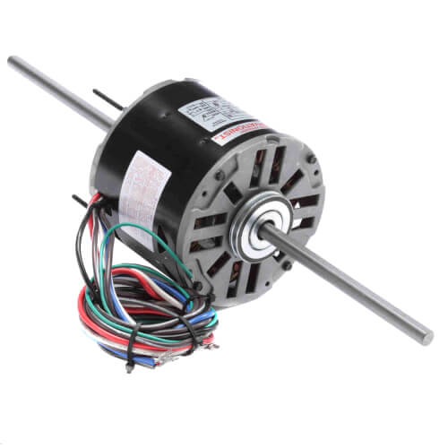 """5-5/8"""" Double Shaft Fan/Blower Motor (208-230V, 1075 RPM, 1/3 HP) Product Image"""