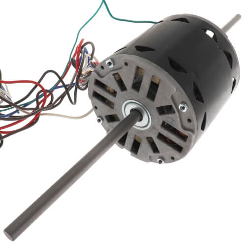 """5-5/8"""" Double Shaft Fan/Blower Motor (208-230V, 1075 RPM, 3/4 HP) Product Image"""