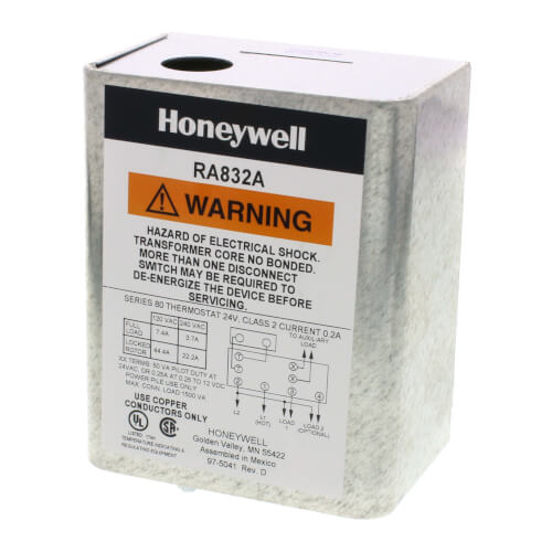 RA832A1066 - Honeywell RA832A1066 - 2 Zone 120V Switching Relay with Dpst  switchingSupplyHouse.com