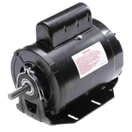 """6-1/2"""" Capacitor Start Resilient Base Motor (115/230V, 1725/1425 RPM, 1/2 HP) Product Image"""