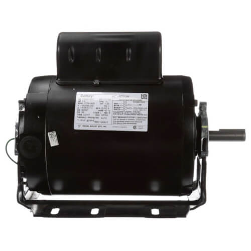"61/2"" Capacitor Start Resilient Base Motor (115/208-230V, 1725/1425 RPM, 1 HP) Product Image"