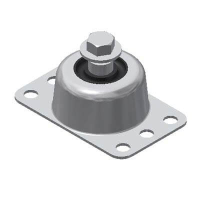 Captive Neoprene Mount Vibration Isolator (400-1000 lbs Comp. Capacity) Product Image
