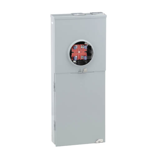 Homeline 16 Circuit Overhead/Underground Ringless Meter Main Service Breaker, 8 Space (200A) Product Image