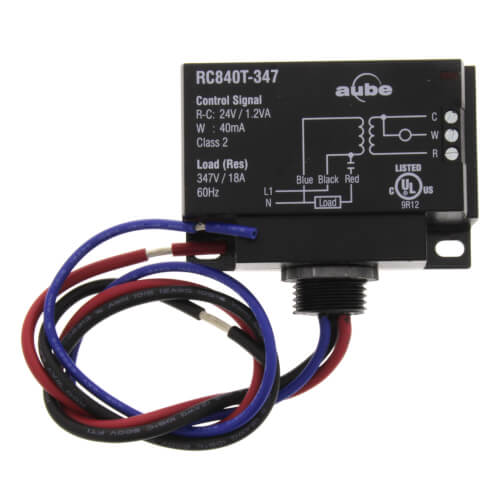 347v Relay w/ Built In 24V Transformer Product Image