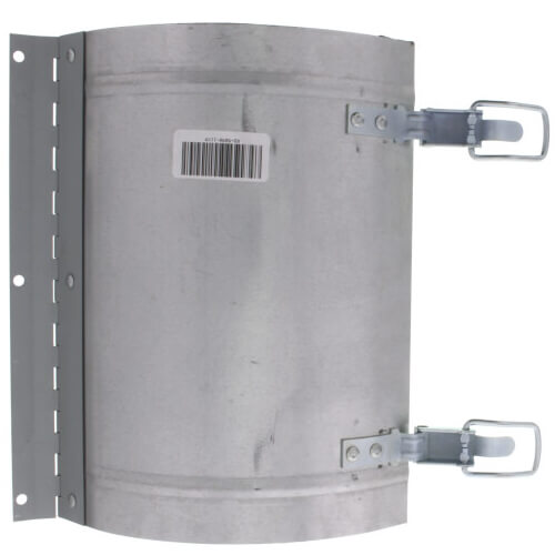 "11"" x 9"" Galvanized Round Duct Access Door Product Image"