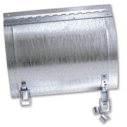 "19"" x 17"" Galvanized Round Duct Access Door Product Image"