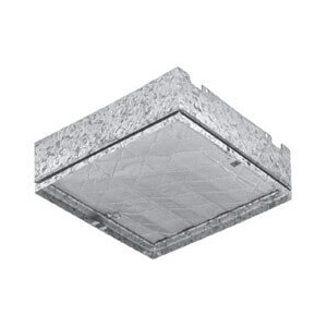"Model RD2 Ceiling Radiation and Fire Damper - 21-3/4"" x 12-1/2"" Product Image"