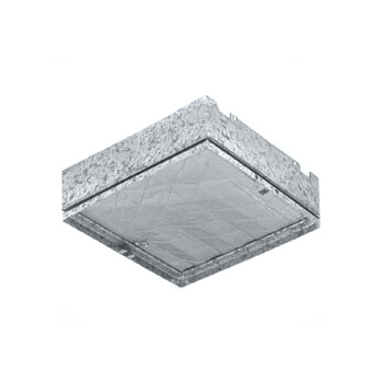 "Model RD3 Ceiling Radiation and Fire Damper - 22-1/4"" x 18-1/4"" Product Image"