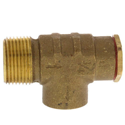"""3/4"""" Brass Relief Valve (75 PSI) Non-Adjustable (Lead Free) Product Image"""