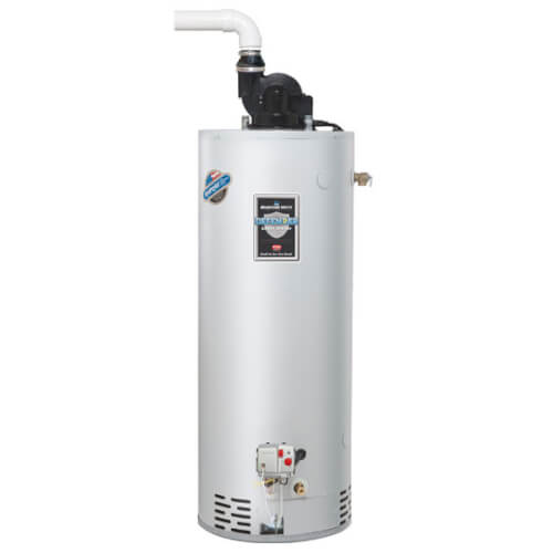 50 Gallon - 50,000 BTU Defender Safety System TTW Power Vent High EF Residential Water Heater (Nat Gas) Product Image