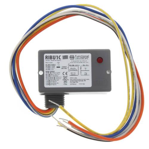 [CSDW_4250]   RIBU1C - Functional Devices RIBU1C - Enclosed Pilot Relay, 10 Amp, SPDT w/  10-30 Vac/DC/120 Vac Coil | Wiring Diagram Spdt Rib |  | SupplyHouse.com