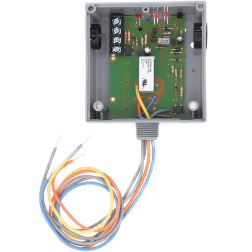 Enclosed 10 Amp Relay and Remote Solid Core Current Switch Combination, Adjustable Product Image