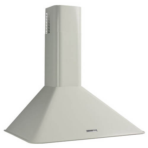 "36"" White Wall Mount Chimney Hood w/ Internal Blower (270 CFM) Product Image"
