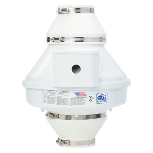 RN Series 4EC-3 Inline Radon Fan (555 CFM) Product Image