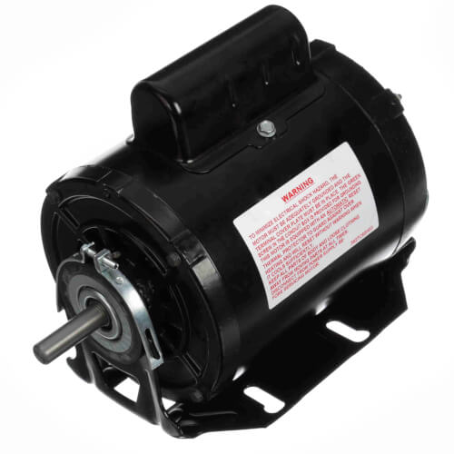 """5-5/8"""" Capacitor Start Resilient Base Motor (115/230V, 1725 RPM, 1/3 HP) Product Image"""