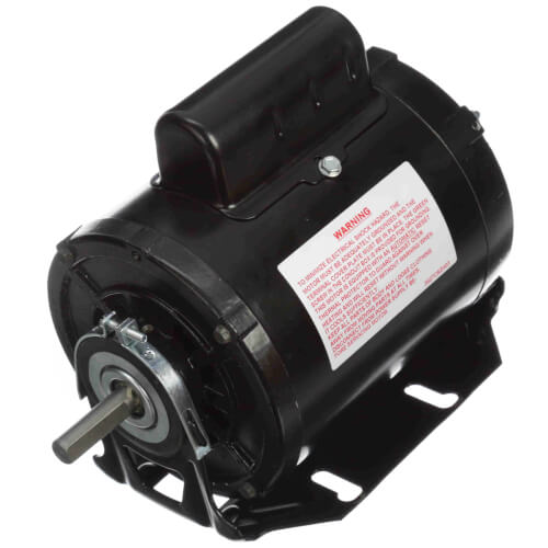 "5-5/8"" Capacitor Start Resilient Base Motor w/ 48 Frame (115/230V, 1725 RPM, 1/2 HP) Product Image"