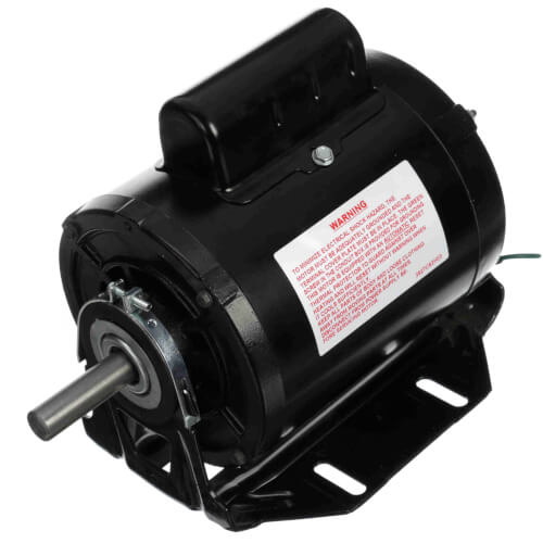 "5-5/8"" Capacitor Start Resilient Base Motor w/ 56 Frame (115/230V, 1725 RPM, 1/2 HP) Product Image"