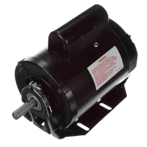 """6-1/2"""" Capacitor Start Resilient Base Motor w/ Sleeve Bearing (115/230V, 1725 RPM, 3/4 HP) Product Image"""
