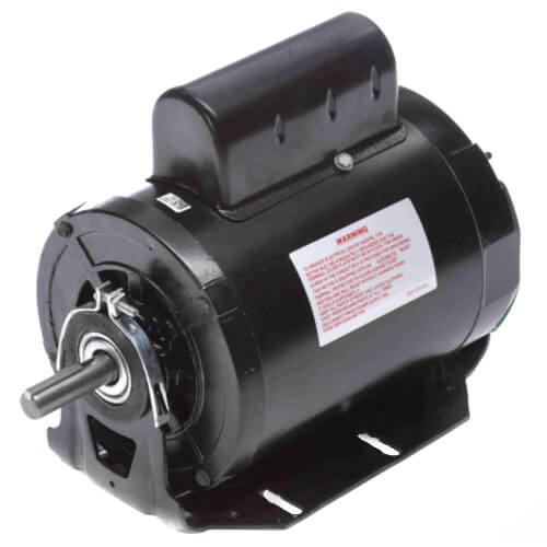 "6-1/2"" Capacitor Start Resilient Base Motor (115/208-230V, 1725/1425 RPM, 1 HP) Product Image"