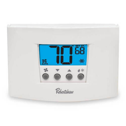 rs5110 robertshaw rs5110 digital 5 2 day programmable thermostat rh supplyhouse com Robertshaw Thermostat User Manuals robertshaw 8600 programmable thermostat manual