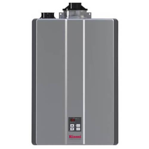 RU130IP 130,000 BTU Super High Efficiency Condensing Indoor Tankless Water Heater (Propane) Product Image
