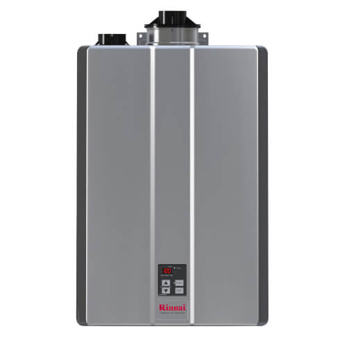 RUR160IN 160,000 BTU, Condensing Indoor Tankless Water Heater w/ Pump Valve (Natural Gas) Product Image