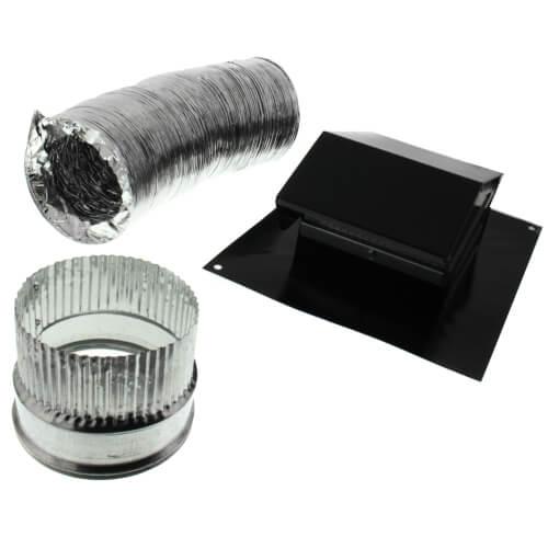 "4"" Diameter Roof Ducting Kit Product Image"