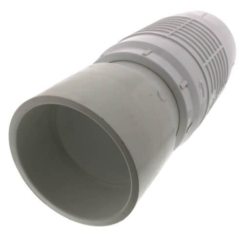 """6"""" PVC Sch. 40 Repair Coupling (Soc x Soc - PVC White with EPDM O-ring) Product Image"""