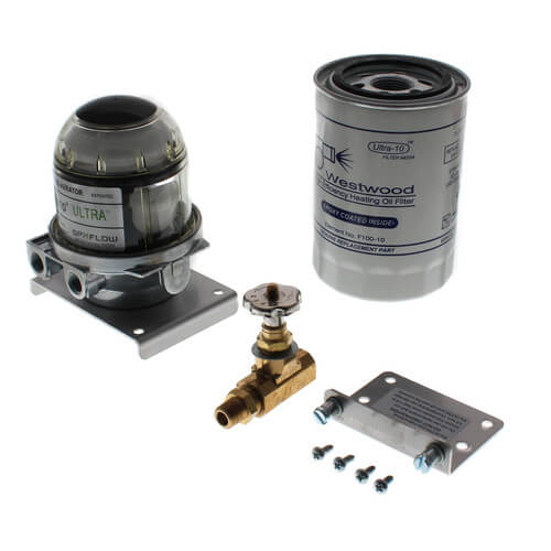 Tigerloop Ultra Oil De-aerator and Spin-On Filter, Model TJN, UL Listed Product Image