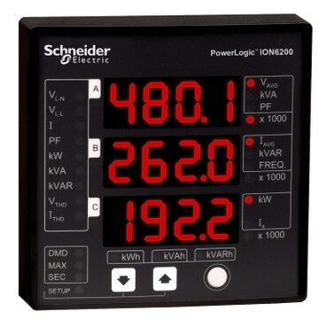 PowerLogic ION6200 Digital Electric Panel Monitor Product Image