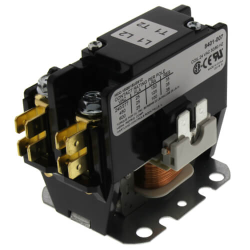 1 Pole Contactor (24V, 25 Amp) Product Image