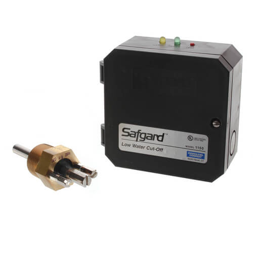 Safgard 1150 Low Water Cutoff w/ Auto Reset & Burner Circuit Test Button -120V  Product Image