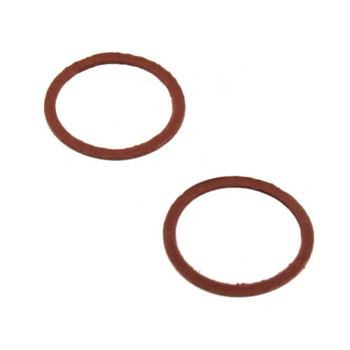 """15/16"""" ID x 1-1/8"""" OD Red Cap Thread Gaskets for Central Faucets (Pair) Product Image"""