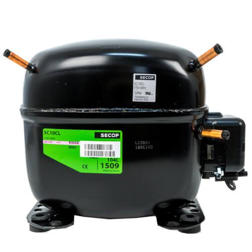 1420 BTU Reciprocating Compressor R-404A/R507, 1/2 HP (115V) Product Image