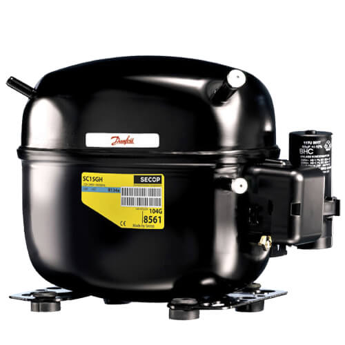 1,241 BTU Reciprocating Compressor 1/2 HP (115V) Product Image