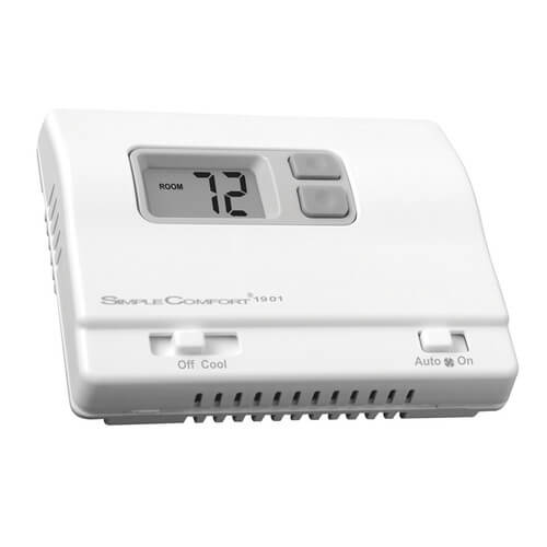 Non-Programmable SimpleComfort Cool Only Thermostat - Single Stage Product Image