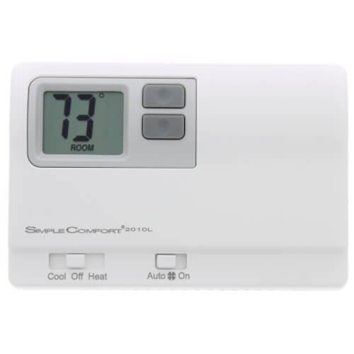 Non-Programmable SimpleComfort Thermostat - 1 Heat/1 Cool/1 Heat Pump (Dual Powered) Product Image