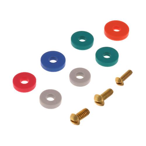 Assortment of Bibb Washers & Bibb Screws (10 per card) Product Image