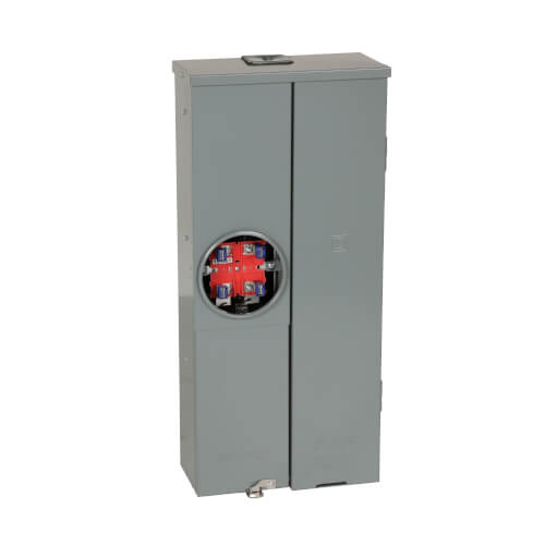Homeline 16 Circuit Overhead/Underground Ring-Type Meter Main Service Breaker, 8 Space (200A) Product Image